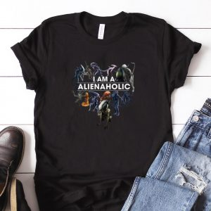 Awesome I Am A Alien Aholic shirt