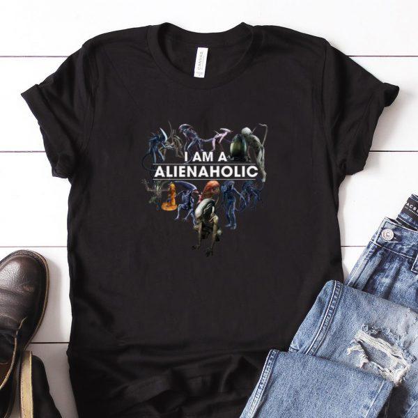 Awesome I Am A Alien Aholic shirt