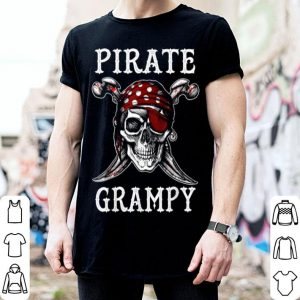 Awesome Pirate Grampy Halloween Skull Costume shirt