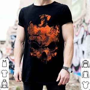 Awesome Skull Crow Dawn Costume Cool Easy Skull Halloween Gift shirt