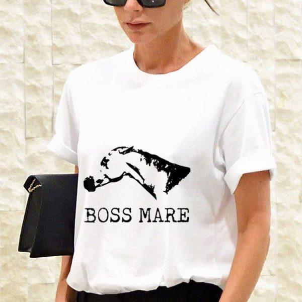 Funny Boss Mare Horse Equestrians shirt