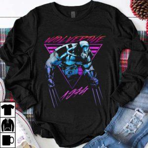 Funny Marvel X-Men Wolverine Neon Retro shirt