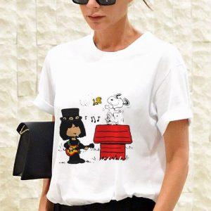 Funny Slash Guns N' Roses Snoopy And Woodstock shirt 2