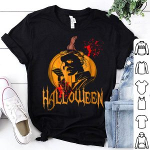 Hot Funny Halloween Michael Scary Myers Face Gift. shirt