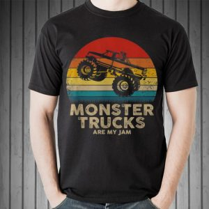 Monster Truck Are My jam Vintage sweater