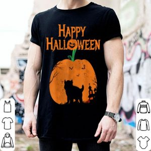 Nice Happy Halloween French Bulldog Pumpkin shirt