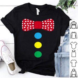 Official Clown Tie Costume Circus Rainbow Halloween Carnival shirt