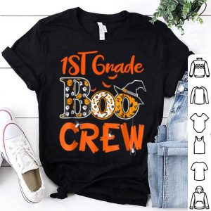 Original 1st Grade Boo Crew Teacher Kids Halloween Gift shirt