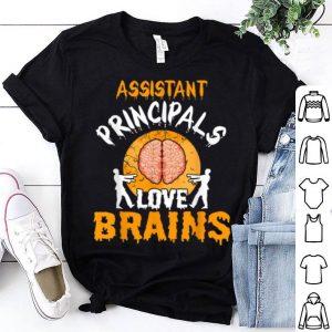 Original Assistant Principals Love Brains Halloween Costume Gift shirt