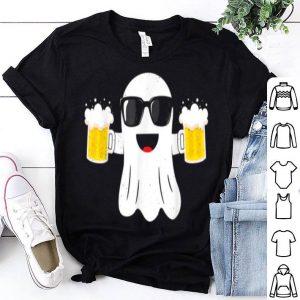 Premium Beer Ghost Halloween Costume Funny Men Gift Dad shirt
