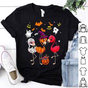 Top Funny Flamingo Halloween For Men Or Woman shirt