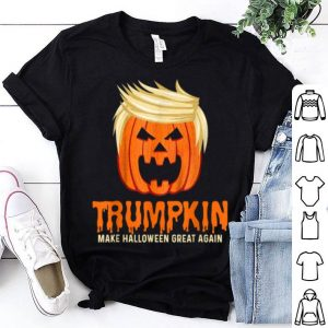 Awesome Make Halloween Great Again Funny Trumpkin shirt