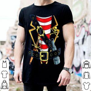 Beautiful Pirate Buccaneer Costume Funny Halloween Novelty Men shirt