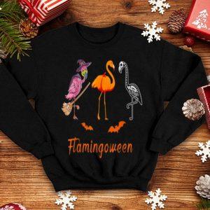 Flamingoween Funny Flamingo Halloween shirt