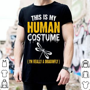 Funny This Is My Costume Dragonfly Halloween Family Matching shirt