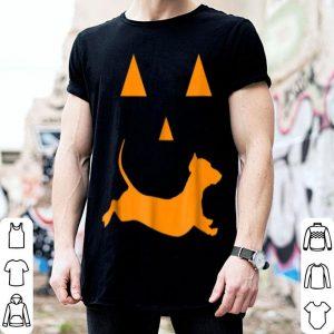 Halloween Pumpkin Dachshund Jack-o-lantern Costume shirt