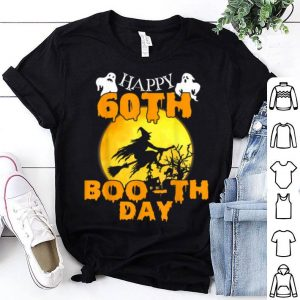 Happy 60th Boo-th Day Boo Ghost Halloween For Birthday shirt