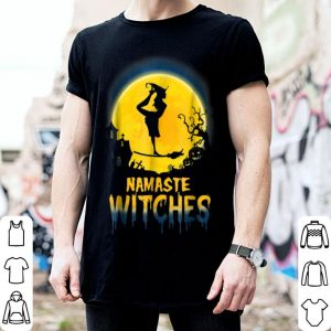 Hot Yoga - Namaste Witches - Halloween Yogas shirt