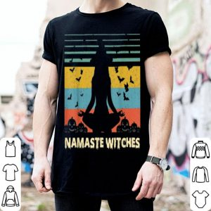 Hot Yoga Namaste Witches Halloween shirt