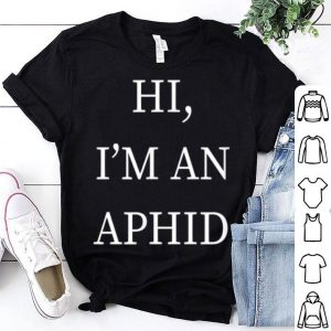 I'm An Aphid Halloween Costume Bug Last Minute Idea shirt