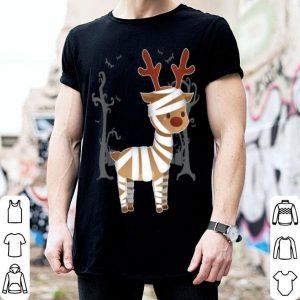 Mummy Reindeer Halloween Costume Gifts shirt