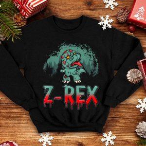 Nice Halloween Zombie T Rex Dinosaur Z Rex Funny Humor shirt