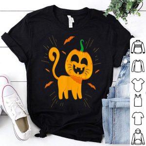 Official Funny Halloween Costumes Cat Pumpkin Great Gift shirt
