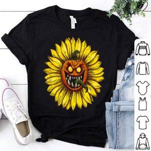 Official Pumpkin Sunflower Costume Halloween Great Funny Cool shirt