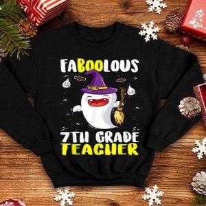 Original Boo Ghost 7th Grade Teacher Hat Witch Halloween shirt