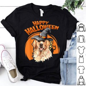 Original Golden Retriever Costumes For Halloween Dog Halloweenie Gift shirt