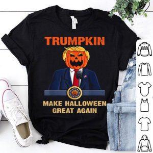 Original Trumpkin Make Halloween Great Again Funny Trump shirt