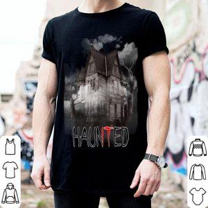 Premium HAUNTED House Creepy Graphic Halloween It Is Scary shirt