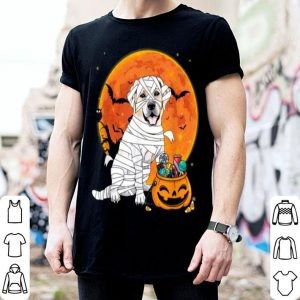 Premium Labrador Retriever Dog Candy Pumpkin Halloween Gifts shirt