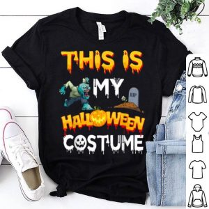 Premium This Is My Halloween Costume Trick Or Treat Ghost shirt