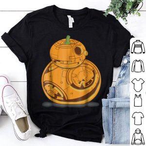 Star Wars Bb-8 Pumpkin Carving Halloween Graphic shirt
