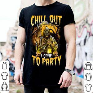 Top Creepy Halloween Reaper shirt