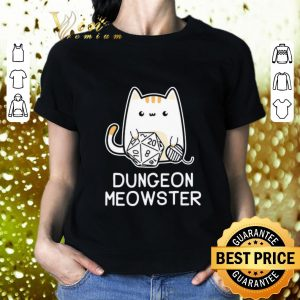 Awesome Cat dungeon meowster shirt