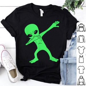 Awesome Dabbing Alien Halloween Funny Dab shirt