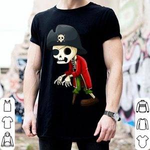 Awesome Pirate Skeleton Funny Halloween Boys Girls Kids Monster shirt
