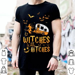 Awesome Witches With Hitches Funny Camping Halloween Gift shirt