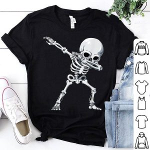 Beautiful Halloween for Boys Kids Dabbing Skeleton Tee Costume shirt