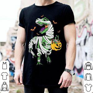 Beautiful Mummy Dinosaur T-rex Halloween Costumes Gift shirt