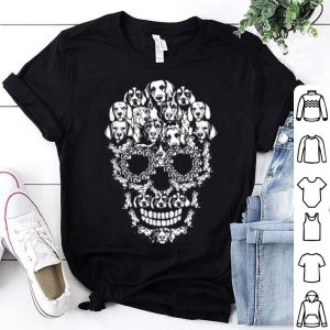 Beautiful Skull Beagle Dog Funny Halloween Costume shirt