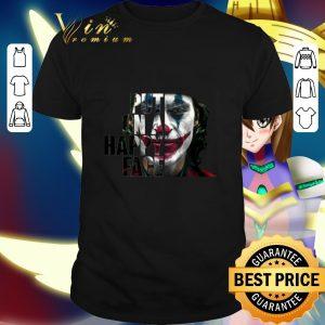 Cheap Put on a happy face Joker 2019 shirt