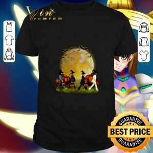 Cool The Beatles Abbey Road Moon Pumpkins Halloween shirt