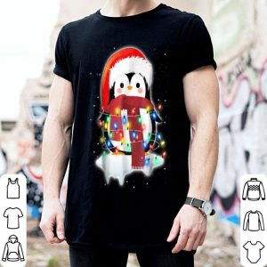 Funny Cute Merry Christmas Penguin Costume Holiday shirt