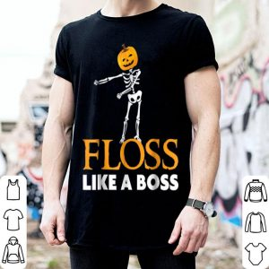 Funny Floss Skeleton - Floss Like a Boss Flossing shirt