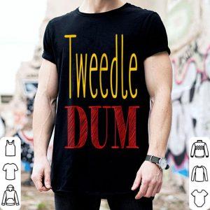 Funny Tweedle Dum Halloween Costume Tee shirt