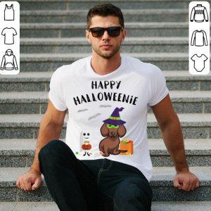 Hot Dachshund Halloween Funny Dachshund Happy Halloweenie shirt