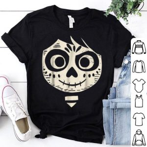 Hot Disney Pixar Coco Miguel Face Halloween Graphic shirt
